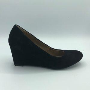 Vionic Lux Camden Black Suede Size 7